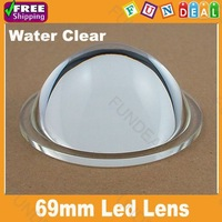 Crazy promotion! 69mm-2 Led optical lens High Power Led Fresnel Lens Reflector Collimator for DIY flashlights/tank Free shipping