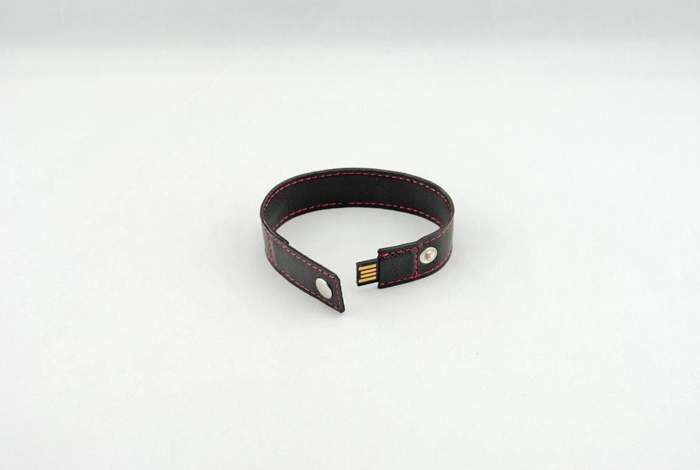 Free EMS/DHL 50pcs/lot logo Print New Fashion Leather Water proof Bracelet USB Flash Drive promote Gifts USB Key ( Brown )(China (Mainland))