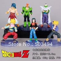 Free Shipping Dragon ball z figures 11th Goku figure chidren toy Christmas gift (6pcs/set)