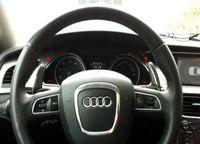 Carbon Fiber Steering Wheel DSG Paddle Extension For Audi A3 A4 A5 A7 Q5 Q7 TT