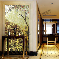 S523 ice onyx glass mosaic cut picture entranceway mosaic background wall tile  /wholesale discount