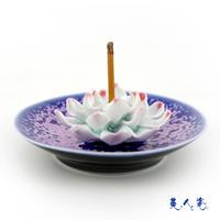 Sweets porcelain accessories incense holder incense burner round pallet classical incense burner unique derlook buddha with