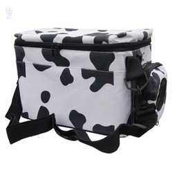 Car refrigerator dual white dairy cow 6l small refrigerator 12v car refrigerator(China (Mainland))