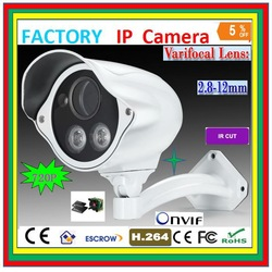 Wholesale New 1Pcs White / Black Color 720P IP Network Camera Pan Tilt Security Webcam CCTV Night Vision IR Web cam(China (Mainland))