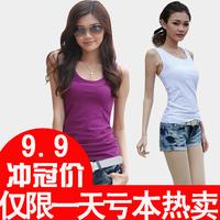 Summer women's 2013 vest basic shirt vest female basic slim tank small vest