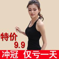 2013 women's spring mm plus size spaghetti strap vest female basic shirt vest basic vest