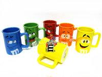 Chocolate beans mm bean cartoon mug glass creative coffee cup mm mug ceramic cup