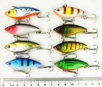 14pcs Fishing Lures VIB Plastic Hard Bait (VI007) 5CM 6G 8#hooks baits Crank lures fresh water  baits Crank lures free shipping