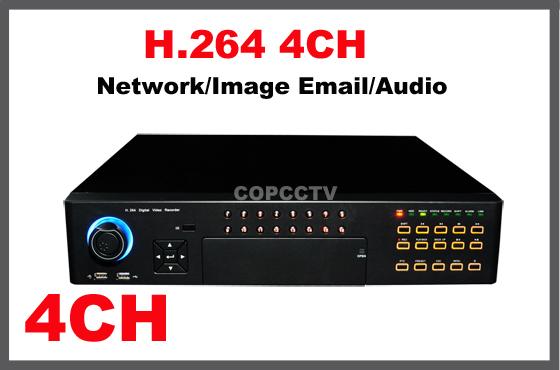 H.264 full D1 4CH DVR(China (Mainland))