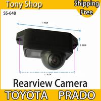 Special Originated Car Rear View Camera for Toyota Prado with 170 degree Waterproof Lens and 1/4 CMOS Sensor