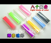 Free shipping 2600mAh charger,LIP STICK portable power bank source For iPhone 5 5G 4 4S samsung nokia etc mobile phone