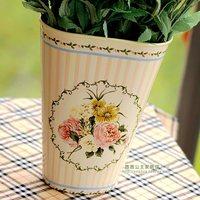 Rustic cylinder canducum flower vase beautiful