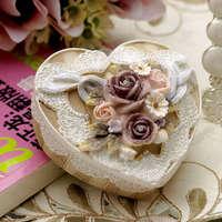 Princess vintage jewelry box resin accessories birthday gift