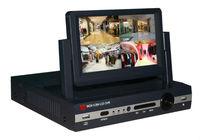 Free Shipping EMS! Standalone H.264 4CH full D1 DVR Video Audio Recorder 7Inch Screen CCTV DVR LCD, HDMI dvr recorder 4ch