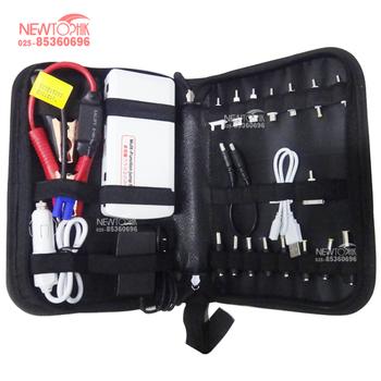 12000mAh 5V 12V 19V Multi-Function Car Battery Charger Jump Starter Mobile phone Power Bank Laptop External Rechargeable Battery
