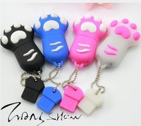 New Promotion price cartoon claw model usb memory stick usb flash drive pen drive 2GB 4GB 8GB free shipping