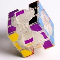 Lanlan 3x3 Void Puzzle Cube Tansparent