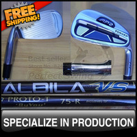 2012 Latest Golf Model AP2 712 Irons Set with Aldila VS PROTO-T Graphite Shafts 3-9P Headcovers included Right Handed