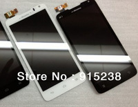 Original Full Completed New LCD Display Screen With Touch Assembly For Huawei Ascend D1 U9500(black/white)