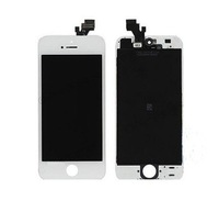 Wholesale 1000% Original white LCD Touch Screen Digitizer Glass Frame Assembly Replacement For Apple iPhone 5 5g