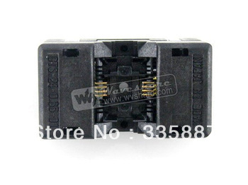 SSOP8 TSSOP8 OTS-8(24)-0.65-01 Enplas IC Test Burn-in Socket Programming Adapter 0.65mm Pitch 4.4mm Width
