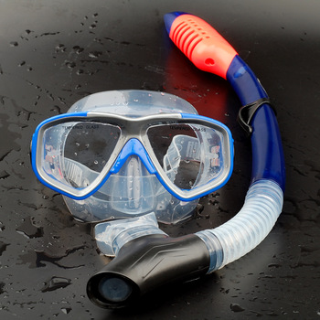 Myopia submersible mirror full dry breathing tube mirror snorkel face mask triratna submersible