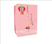 LU-015 My Beauty Dairy Free Shipping Strawberry Yogurt Face Mask Oil-control  Masque Mask Prosable Mask 10pcs/lot