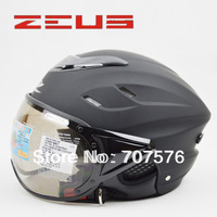 Helmet motorcycle helmet zs-125b breathable lining anti-uv helmet   size L
