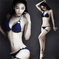 High Quality 2013 summer new women Victoria fashion elegant sexy split bikini hot fashion small female swimwear