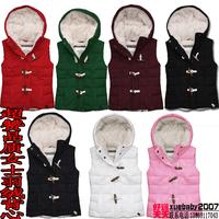 Excellent autumn and winter vest female thickening vest slim vest berber fleece lining down vest