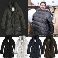 2012af female winter down coat medium-long outerwear Women women's down coat down outerwear