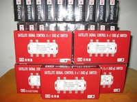 Freeshipping 2pcs/lot GS-81S 8 in 1 DiSEqC Switch
