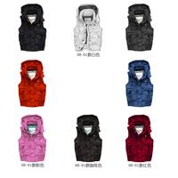 2012af Women f female down coat down outerwear down vest female vest female