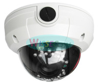 Free shipping New!600TVL Effio Sony CCTV Varifocal lens Outdoor Dome camera 3.6mm lens vandalproof camera