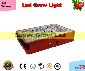 Free Shipping 200W Apollo Led 90x3W=270W Grow Light with Lens Pannel Bulb Lamp Red Blue White Full Spectrum