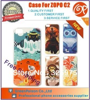 New Arrival Free Shipping 20 Patterns For Choice 5.0 inch Design Case For ZOPO C2, Assorted Patterns