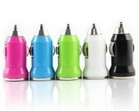 USB  Mini     Car   Charger   Cell phone   Charger   Bullet  Design buy  2 lots (6 pieces) send  1  piece gift