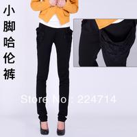 Harem pants female trousers 2013 pants spring and autumn pants skinny pants lace pocket