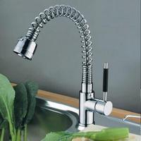 2014 New Promotion Freeshipping Torneiras Para Pia Cozinha free Ship Faucet Water Power Swivel Kitchen Sink Mixer Tap Slt001