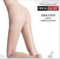 Mona thin double faced open file pantyhose stockings lutun plus size