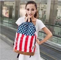 canvas backpack american flag dress&school bag&backpack for school&korean backpack tactical backpack&women american flag dress