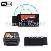 10pcs!!! Wireless OBD2 WIFI Connection ELM327 Auto Code Diagnostic WIFI ELM 327