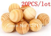 P16 20pcs/lot Aromatherapy Supplies, Pest Control, Moth, Sandalwood Fragrant Wood Fresh Air ball