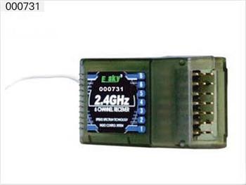 Esky E-sky 000731 2.4GHz 6CH Receiver 2.4Ghz Helicopter 600 Series BELT-CP CX 002728 Rc Spare Part Parts Accessories