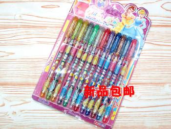 New arrival flash pen 12 16 24 36 greeting card pen neon pen cartoon hook line pen