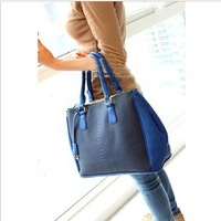 2013 vintage genuine leather quality bag document bag female bags handbag