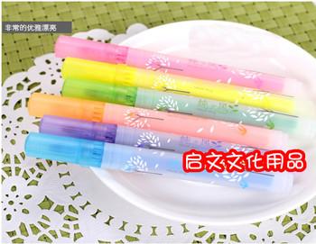 Stationery pure multicolour neon pen marker pen 6301 pen