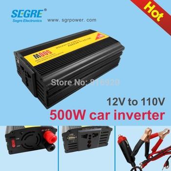 25pcs/lot 500w invertor dc 12v ac 110v car power converter.