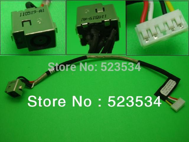 Laptop dc power jack with cable for HP DV4, DV7 Series,G50 Series,7.4*5.5 mm(China (Mainland))