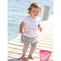 2012New! Girls short-sleeved suit T-shirt+ pantskirt 2 set, baby wear set for children,free shipping